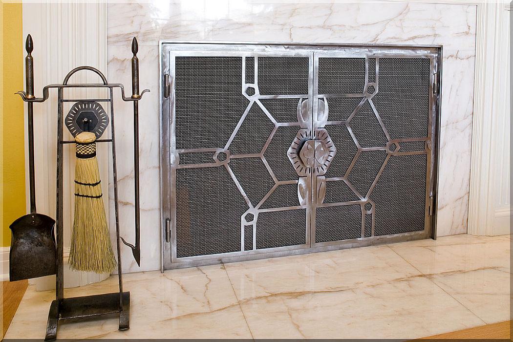 Contemporary Fireplace Doors Rick Andrus Design Fire 12 1b